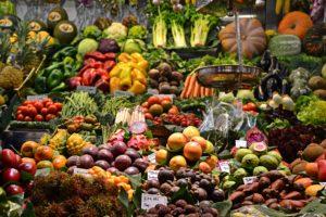 Eine reichhaltige Gemüse-Auslage