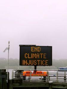 Für Klimagerechtigkeit