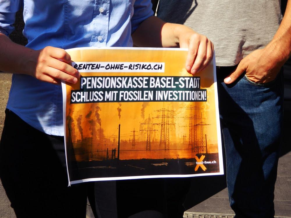Penstionskasse Basel-Stadt schluss mit fossilen Brennstoffen