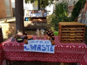 Aktion und Stand von Zero Waste